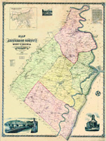 1883 Jefferson County Virginia w/property owners